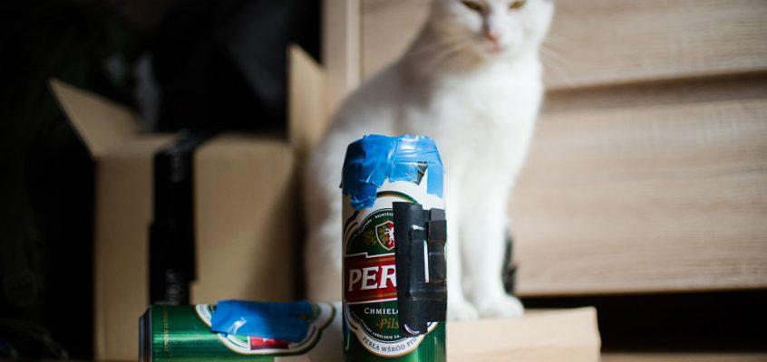 Co można zrobić z puszki po piwie?